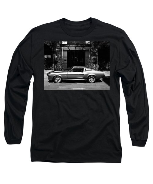 1967 Shelby Mustang B Long Sleeve T-Shirt by Andrew Fare