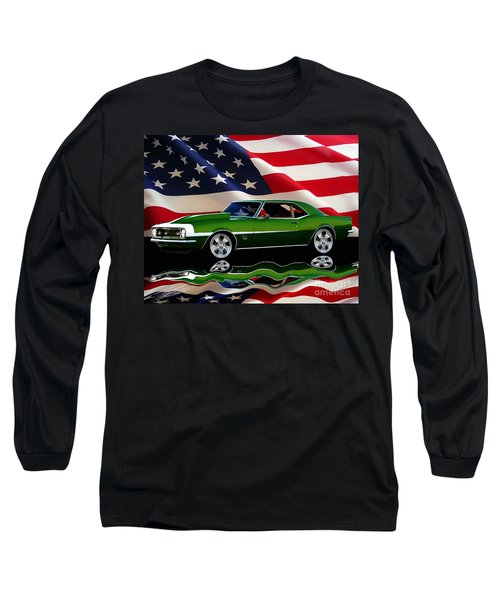 1968 Camaro Tribute Long Sleeve T-Shirt