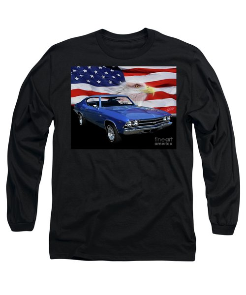 1969 Chevelle Tribute Long Sleeve T-Shirt