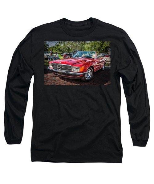 1984 Mercedes 500 Sl Painted  Long Sleeve T-Shirt
