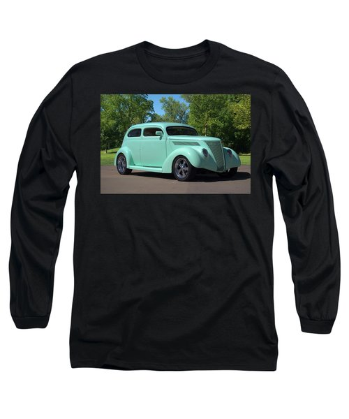 1937 Ford Sedan Hot Rod Long Sleeve T-Shirt