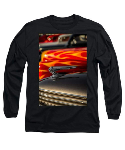 1939 Graham Coupe Hood Ornament Long Sleeve T-Shirt
