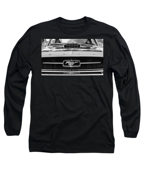 1967 Ford Mustang Grille Emblem Long Sleeve T-Shirt