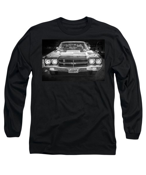 1970 Chevy Chevelle 454 Ss Bw   Long Sleeve T-Shirt