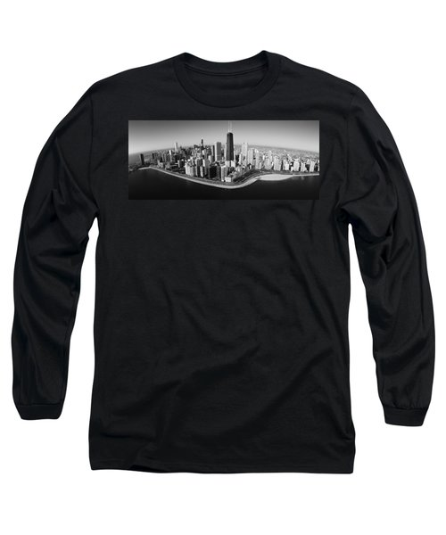 Aerial View Of Buildings In A City Long Sleeve T-Shirt