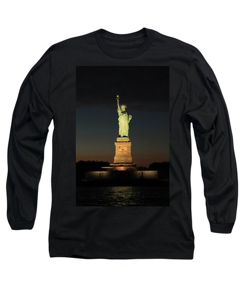 All Lit Up Long Sleeve T-Shirt by Catie Canetti