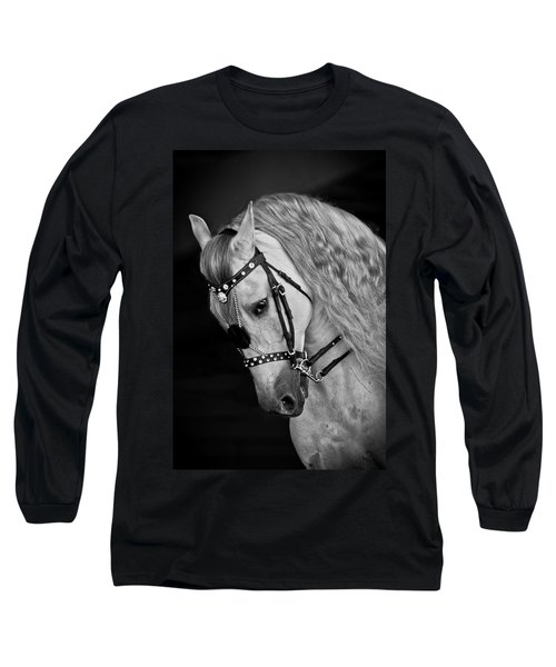 Andalusian Long Sleeve T-Shirt by Wes and Dotty Weber