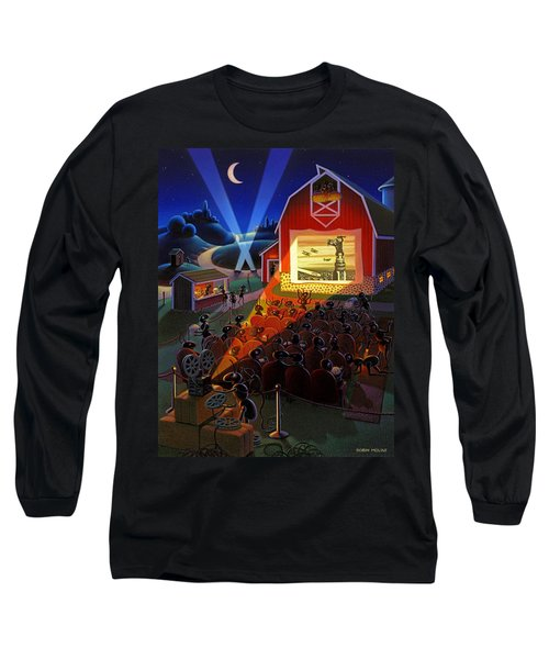 Ants At The Movies Long Sleeve T-Shirt