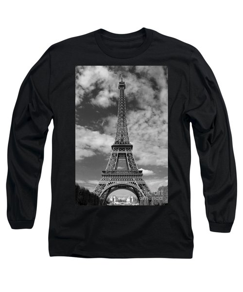Architectural Standout Bw Long Sleeve T-Shirt by Ann Horn