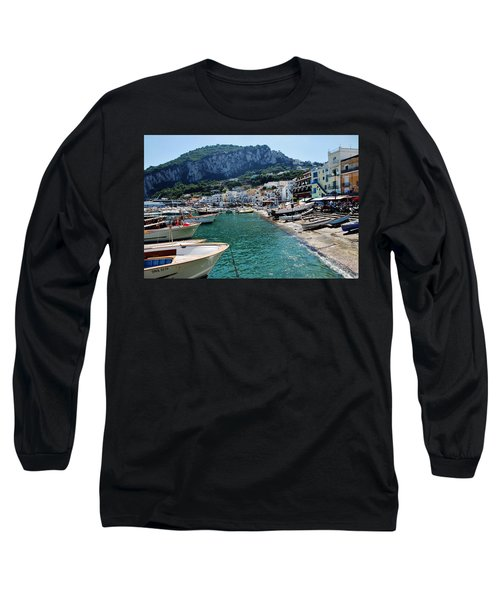 Arrival To Capri  Long Sleeve T-Shirt