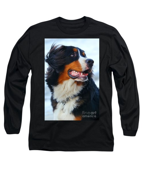 Beautiful Dog Portrait Long Sleeve T-Shirt