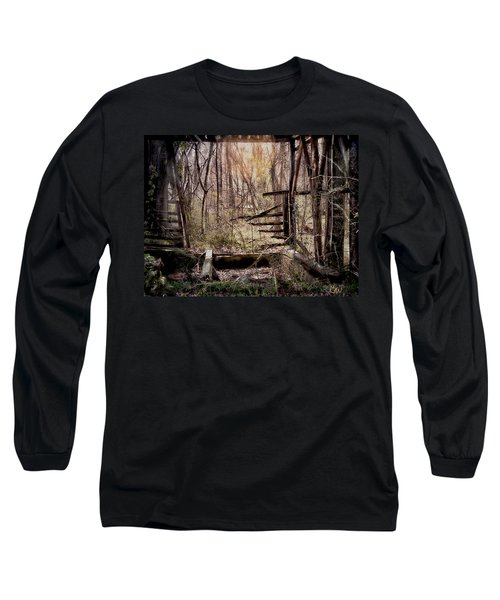 Long Sleeve T-Shirt featuring the photograph Been There by Bonnie Willis