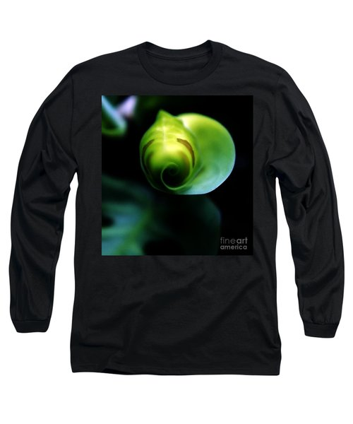 Long Sleeve T-Shirt featuring the photograph Birth Of A Leaf by Lilliana Mendez