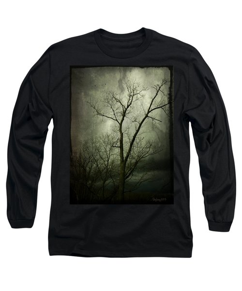 Bleak Long Sleeve T-Shirt by Cynthia Lassiter