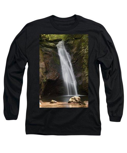 Courthouse Falls North Carolina Long Sleeve T-Shirt