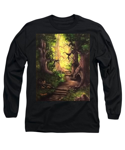 Druid Forest Long Sleeve T-Shirt
