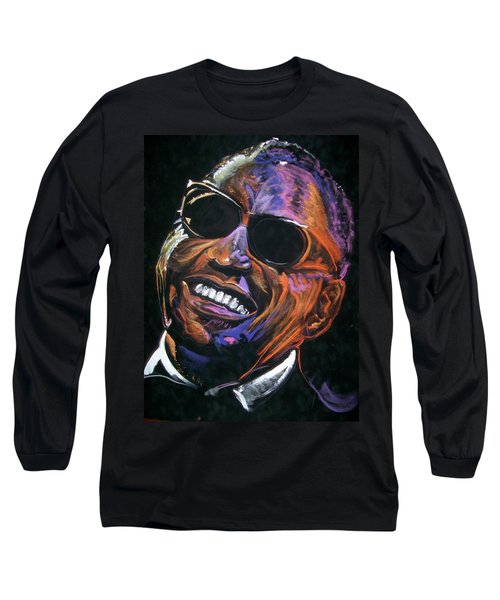 electric Ray Charles Long Sleeve T-Shirt