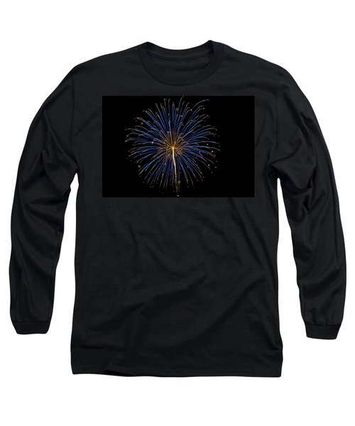 Fireworks Bursts Colors And Shapes Long Sleeve T-Shirt