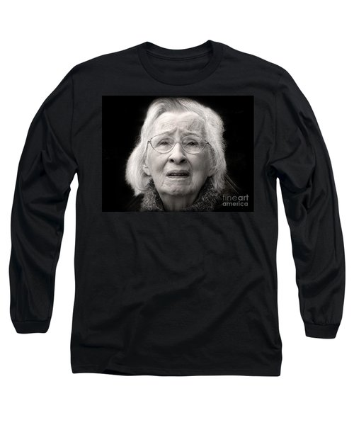 Five Minutes In A Long Life Long Sleeve T-Shirt by Ellen Cotton
