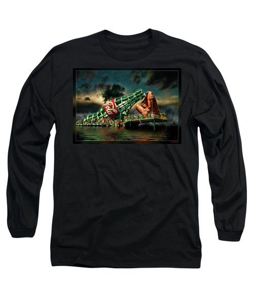 Floating Coke Bottle Long Sleeve T-Shirt