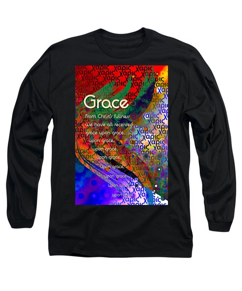 Grace Long Sleeve T-Shirt by Chuck Mountain