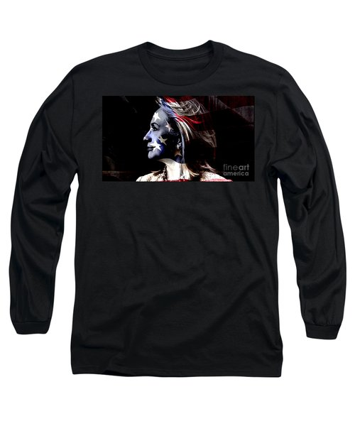 Long Sleeve T-Shirt featuring the mixed media Hillary 2016 by Marvin Blaine