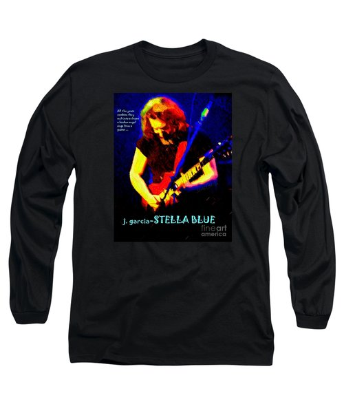 Long Sleeve T-Shirt featuring the photograph Dust Off Those Rusty Strings by Susan Carella