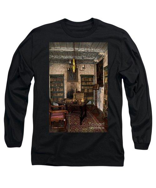Junipero Serra Library In Carmel Mission Long Sleeve T-Shirt