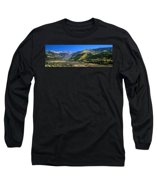 Landscape With Mountain Range Long Sleeve T-Shirt