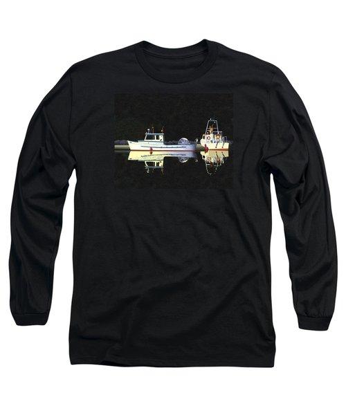 Last Light  Island Moorage Long Sleeve T-Shirt