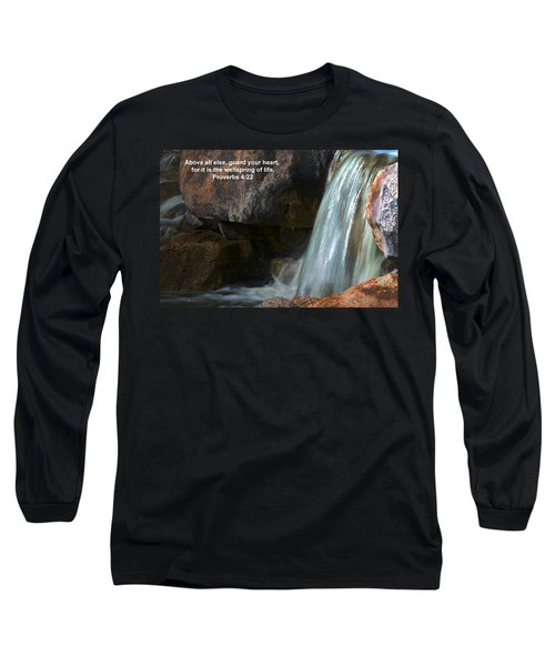 Life's Reflections Long Sleeve T-Shirt by Deb Halloran