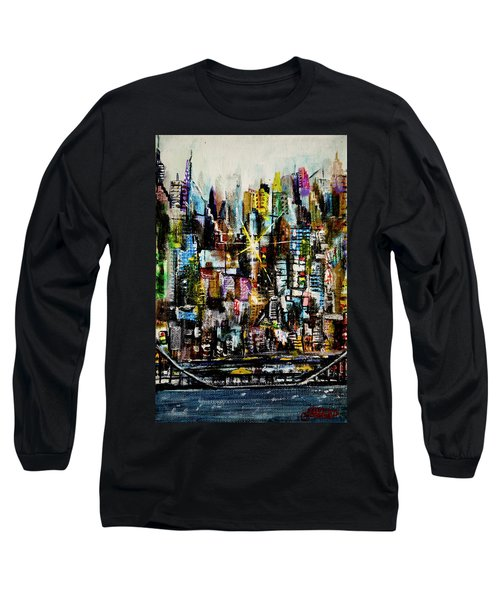 Manhattan Morning Long Sleeve T-Shirt
