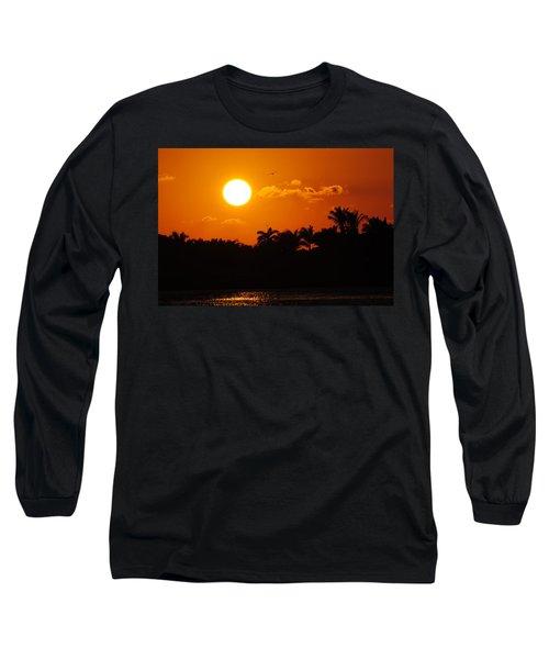 Marco Island Sunset Long Sleeve T-Shirt
