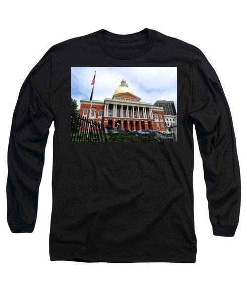 Massachusetts State House Boston Ma Long Sleeve T-Shirt