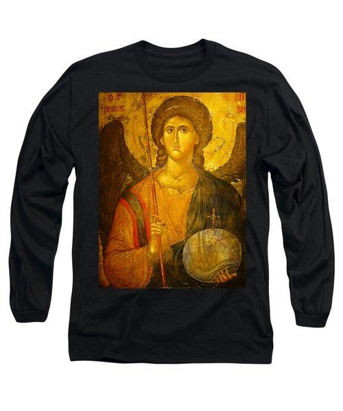 Michael The Archangel Long Sleeve T-Shirt