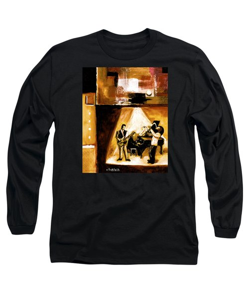 Modern Jazz Number One Long Sleeve T-Shirt