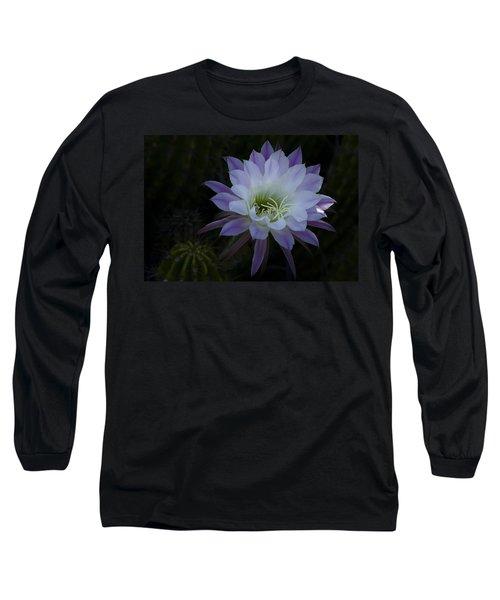 Night Blooming Cactus  Long Sleeve T-Shirt