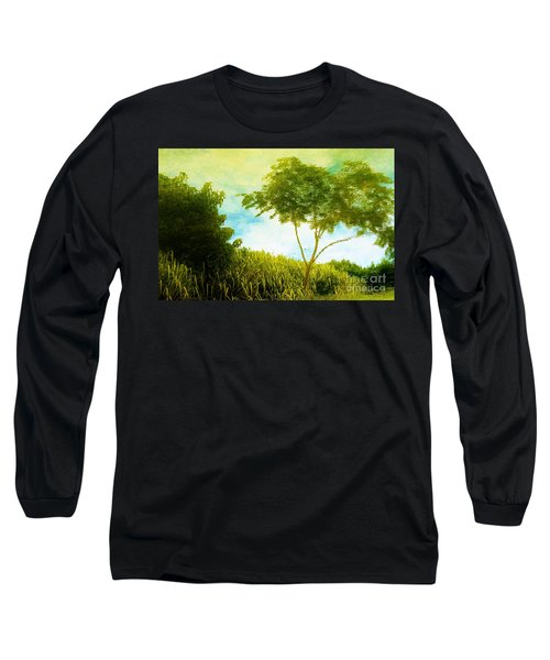 Ode To Monet Long Sleeve T-Shirt by Amar Sheow