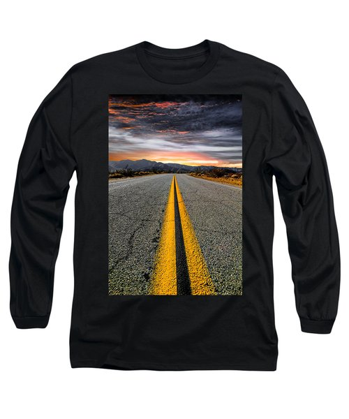 On Our Way  Long Sleeve T-Shirt by Ryan Weddle