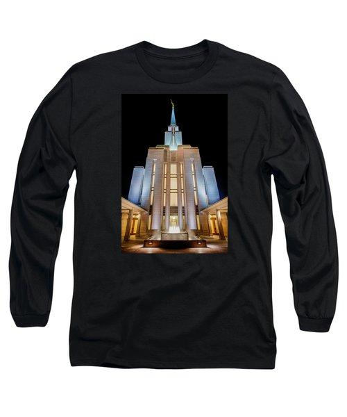 Oquirrh Mountain Temple 1 Long Sleeve T-Shirt