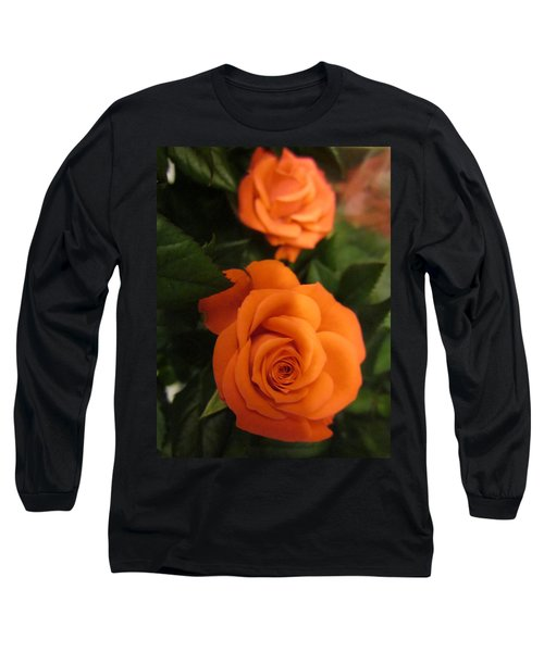 Orange Delight Long Sleeve T-Shirt