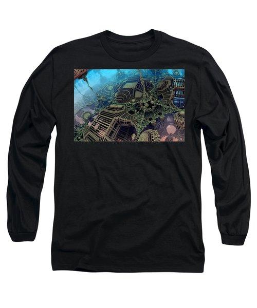 Parallel World  Long Sleeve T-Shirt by Evgeniy Lankin