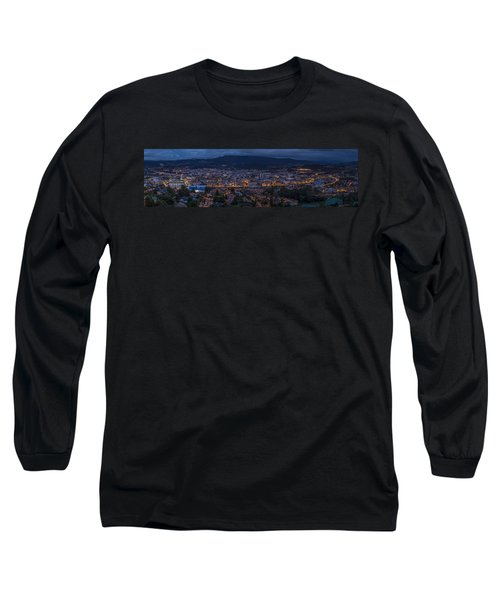 Long Sleeve T-Shirt featuring the photograph Pontevedra Panorama From A Caeira by Pablo Avanzini