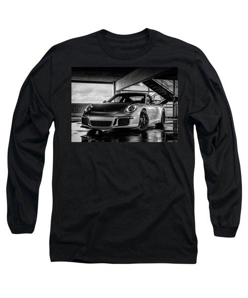 Porsche 911 Gt3 Long Sleeve T-Shirt by Douglas Pittman