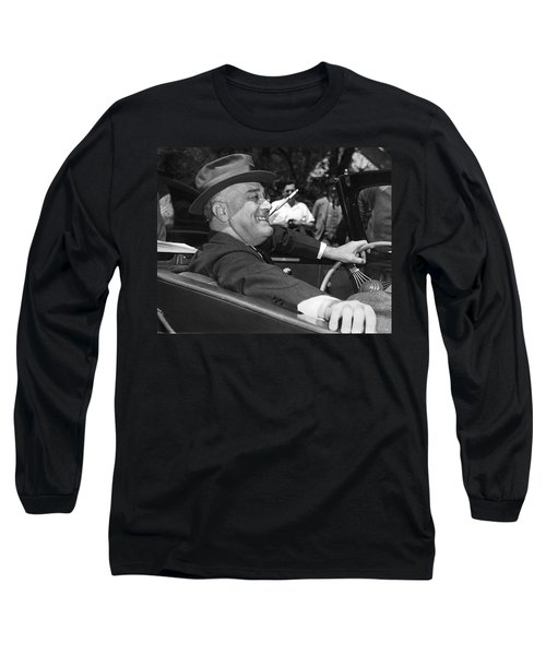 President Franklin Roosevelt Long Sleeve T-Shirt