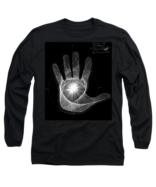 Quantum Hand Through My Eyes Long Sleeve T-Shirt