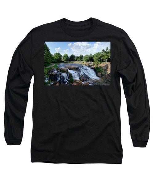 Reedy River Falls Long Sleeve T-Shirt