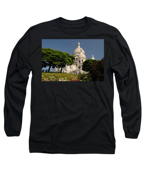 Sacre Coeur Long Sleeve T-Shirt by Jeremy Voisey