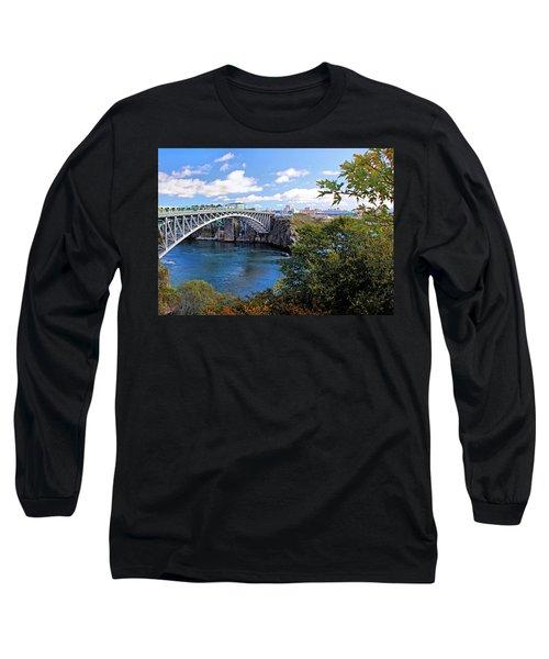 Saint John New Brunswick Long Sleeve T-Shirt by Kristin Elmquist