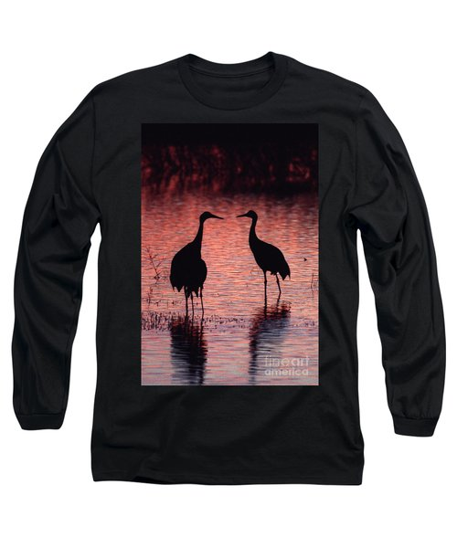 Sandhill Cranes Long Sleeve T-Shirt